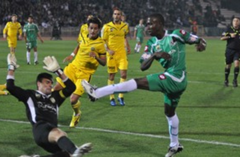 Taleb Tawatha Maccabi Haifa_311 (photo credit: Maccabi Haifa website)