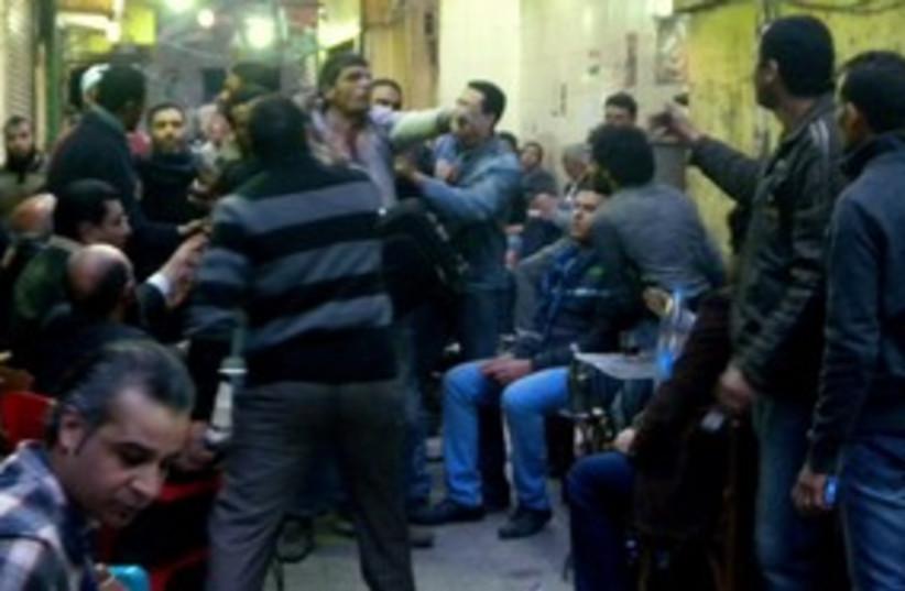 Egypt cafe riot 311 (photo credit: MELANIE LIDMAN)