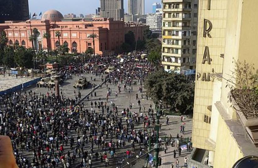 egypt riots FOR GALLERY Mel 4 (photo credit: MELANIE LIDMAN)