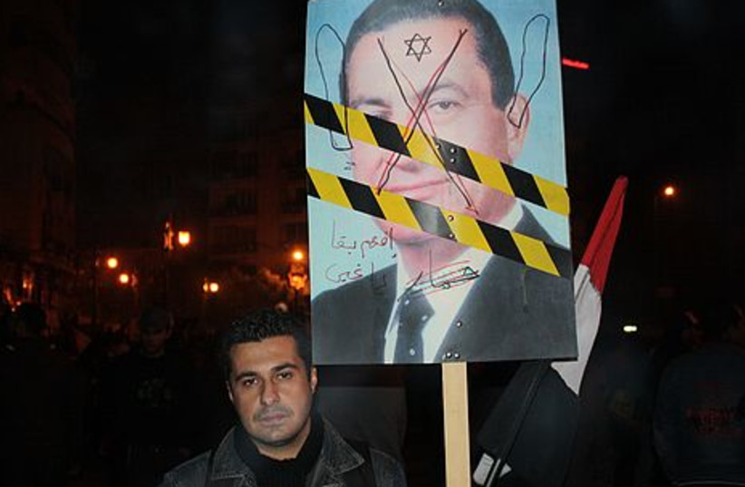 egypt riots FOR GALLERY Ben 8 (photo credit: Benjamin Hartman)
