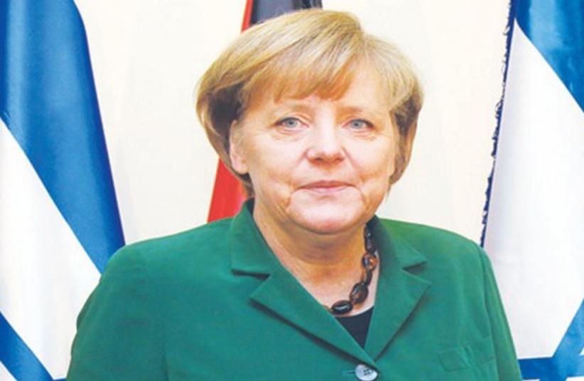 Angela Merkel 521 (photo credit: Marc Israel Sellem)