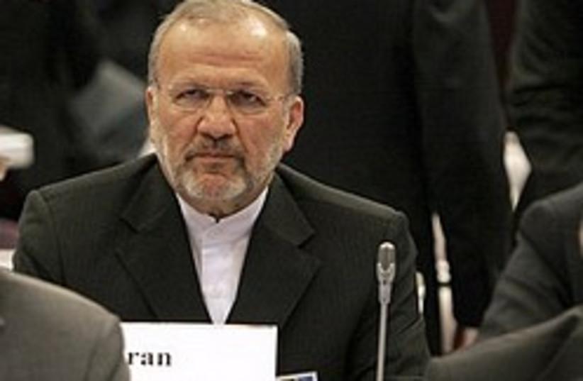 Iranian Foreign Minister Manouchehr Mottaki. (photo credit: AP)