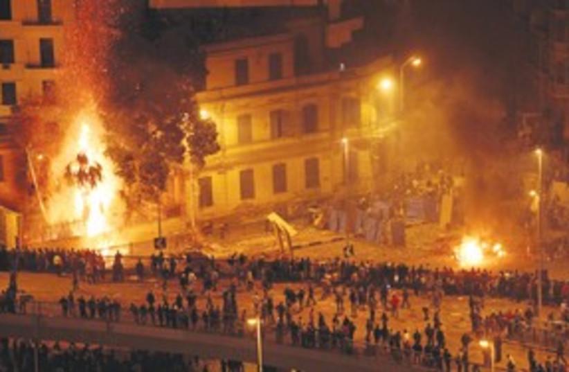 Egypt Night Riots 311 (photo credit: Associated Press)