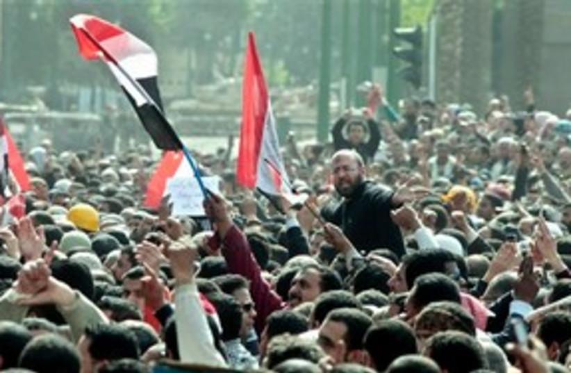 Egypt Friday Tahrir 311 (photo credit: Associated Press)