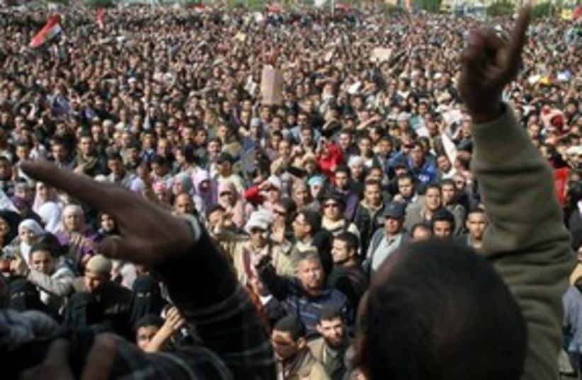 Egyptian Masses 311 (photo credit: Associated Press)