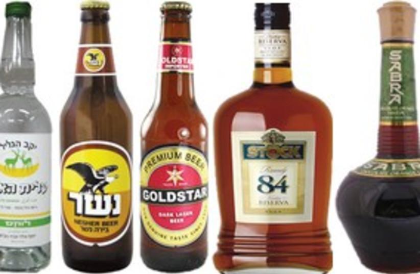 Israeli alcoholic beverages 311 (photo credit: Courtesy)