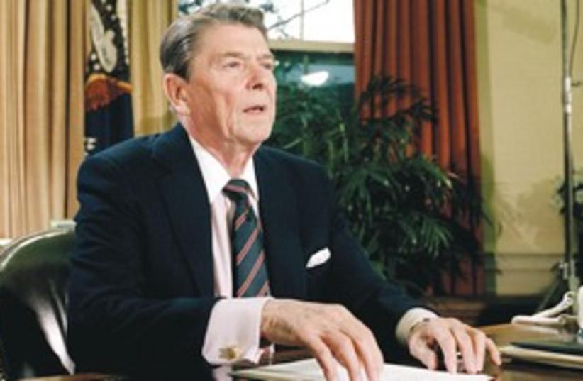 Ronald Reagan 311 AP (photo credit: AP)