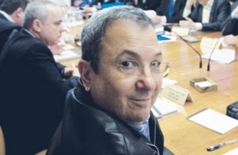 Smiley Barak (photo credit: BAZ RATNER)