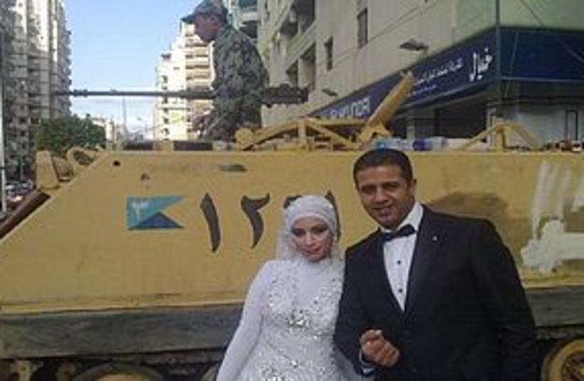 tahrir wedding 311 (photo credit: Yfrog)