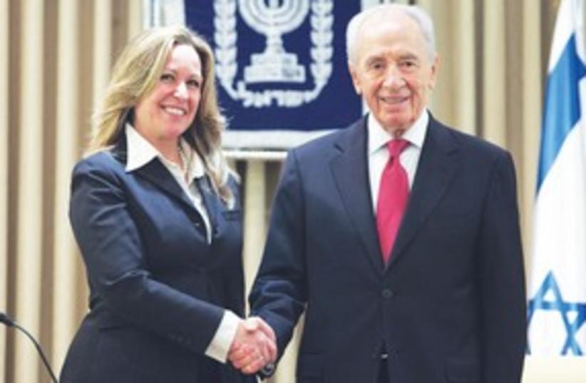 Peres Jimenez 311 (photo credit: GPO)