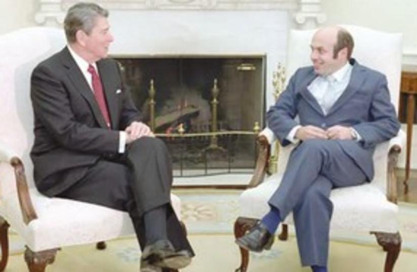 Reagan and Sharansky 311 (photo credit: Ronald Reagan Library/White House photo)