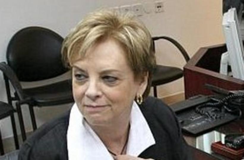 Supreme Court President Dorit Beinish 311  (photo credit: Ariel Jerozolimski)