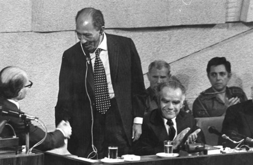 Anwar Sadat & Begin 521 (photo credit: Courtesy)