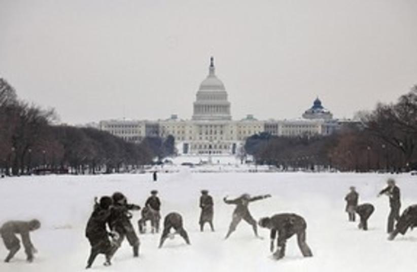 Capitol Snow 311 (photo credit: Courtesy)