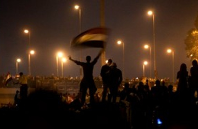 Egypt Fireworks 311 (photo credit: Associated Press)