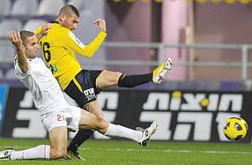 maccabi tel aviv soccer 311 (photo credit: Asaf Kliger)