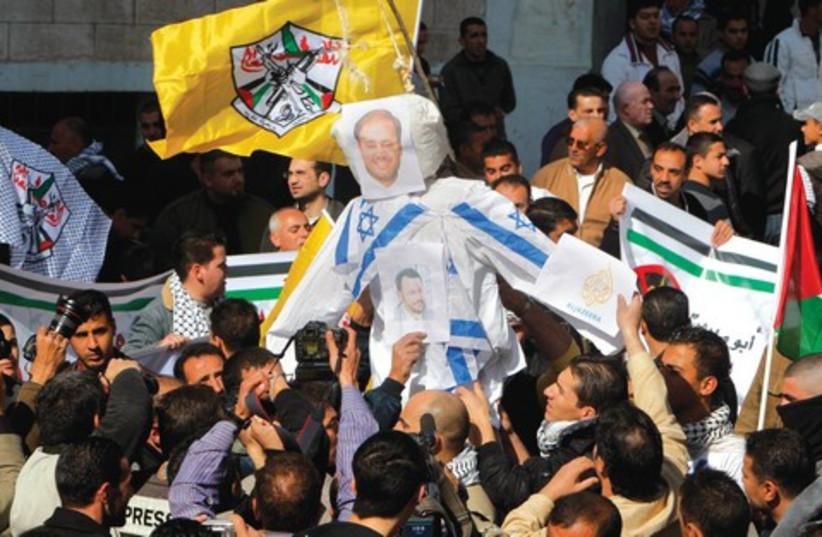 Al Jazeera Backlash 521 (photo credit: Associated Press)
