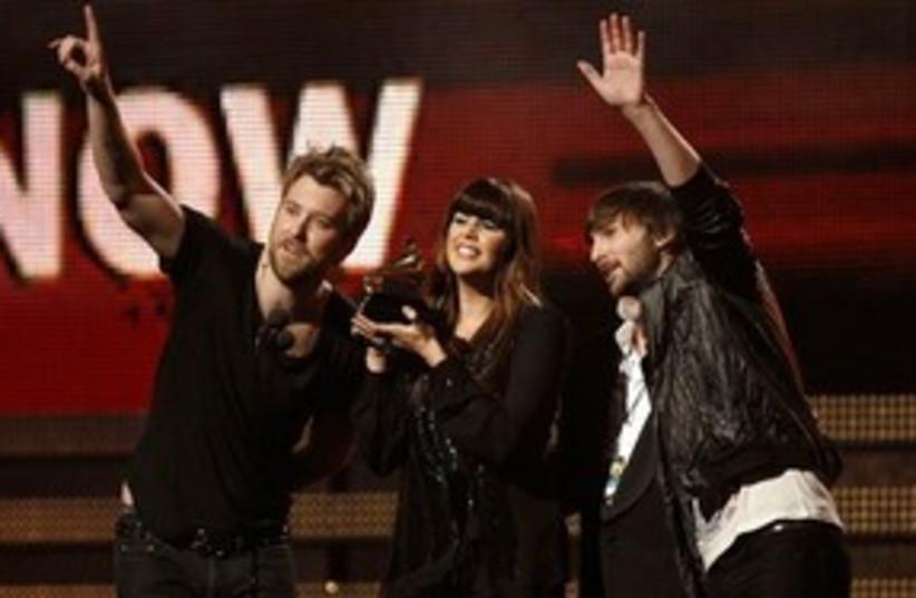 Lady Antebellum at Grammys 311 AP (photo credit: AP)