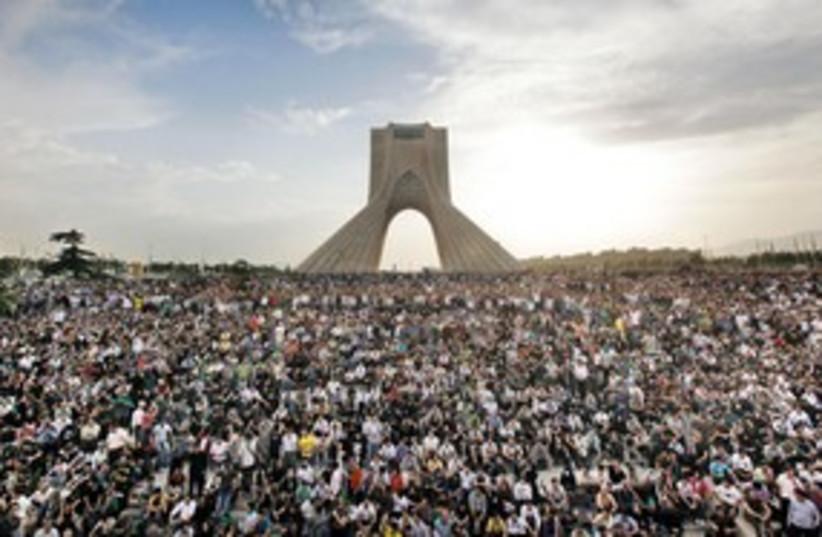 Protests in Tehran Iran 2009 311 AP (photo credit: AP)