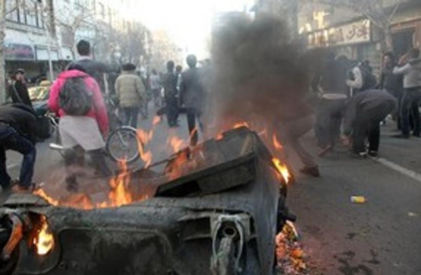 Iran protests 311 (photo credit: Associated Press)
