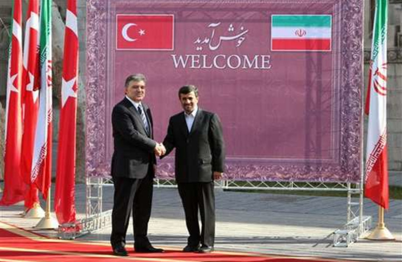 Iran and Turkey 520 (photo credit: AP)