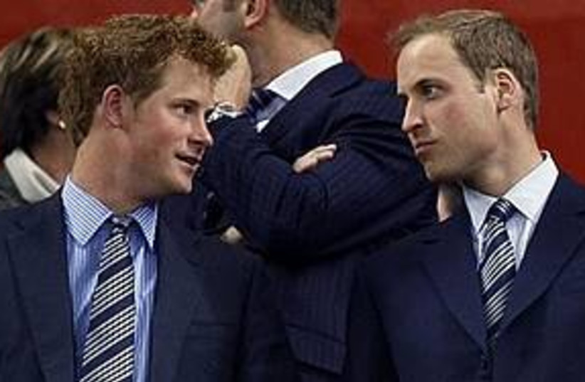 princes william and harry 311 (photo credit: Associated Press)
