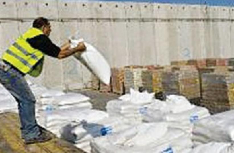 Gaza goods 311 (photo credit: Associated Press)