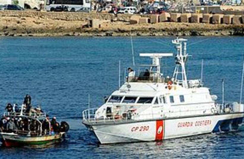 italy tunisia egypt boats 311 (photo credit: Associated Press)
