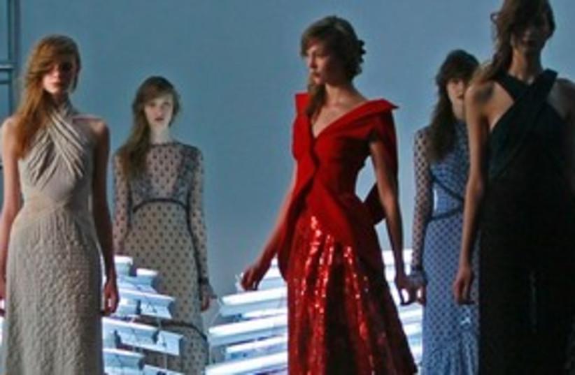 Fashion week 311 (photo credit: Associated Press)
