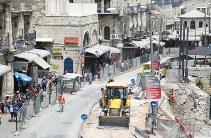 Jerusalem construction 521 (photo credit: Marc Israel Sellem)