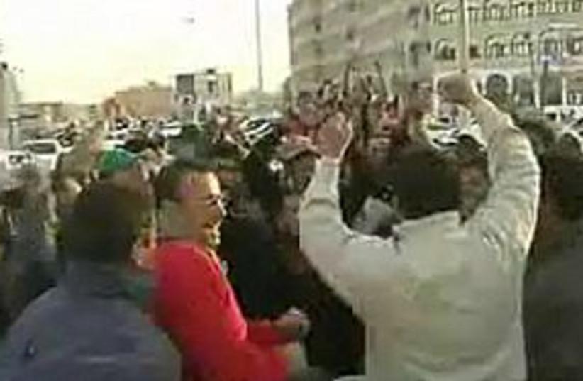 libya protest 311 (photo credit: Screenshot)