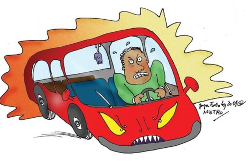 Cartoon car 521 (photo credit: Courtesy)