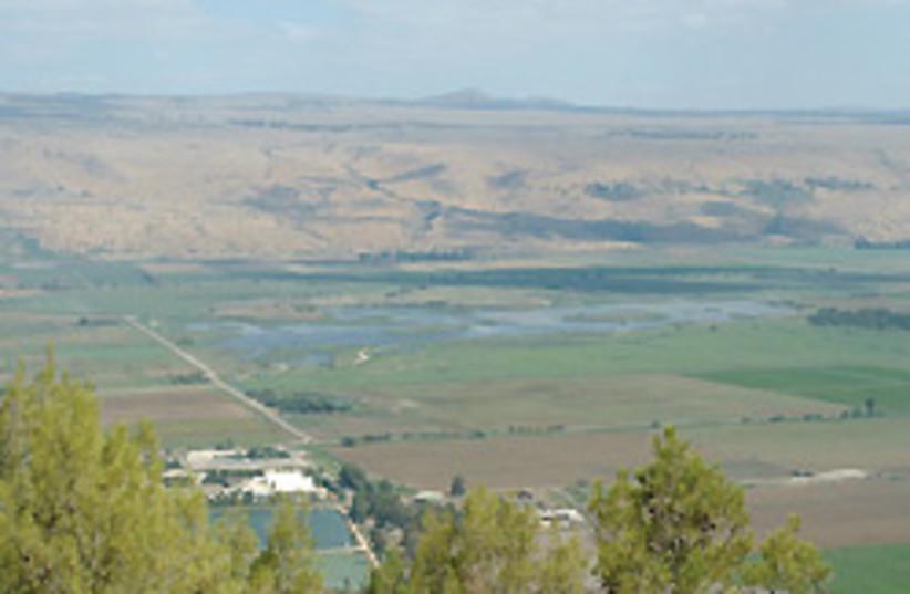 A view of the Galilee: Argamon Nature Reserve's la (photo credit: Lydia Aisenberg)