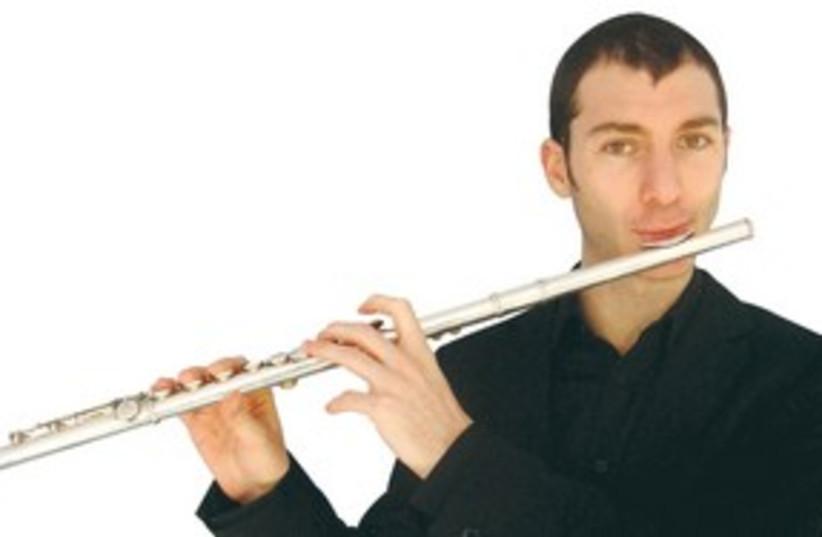 Jazz flutist Itai Kriss 311 (photo credit: Courtesy)