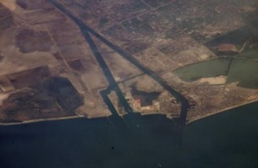 Suez Canal 311 (photo credit: Associated Press)