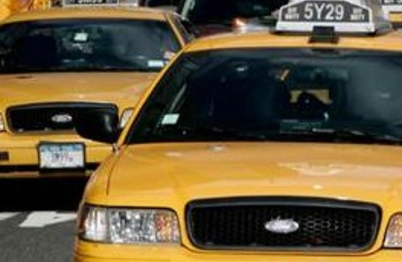 taxis 311 (photo credit: AP)
