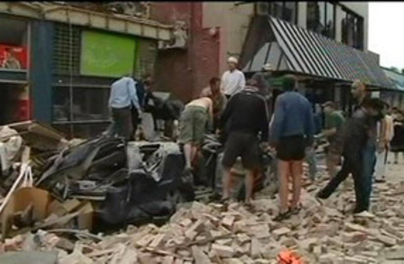 Christchurch Earthquake 311 (photo credit: ASSOCIATED PRESS)