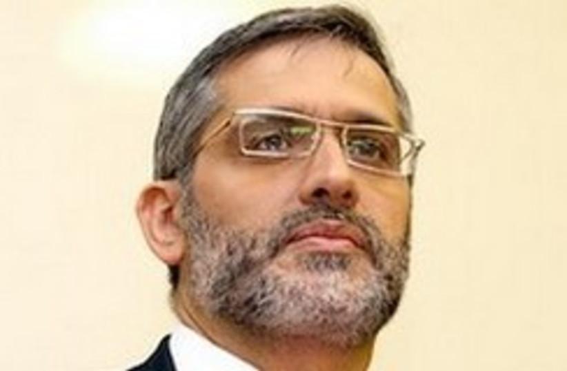 Interior Minister Eli Yishai. (photo credit: Ariel Jerozolimski)