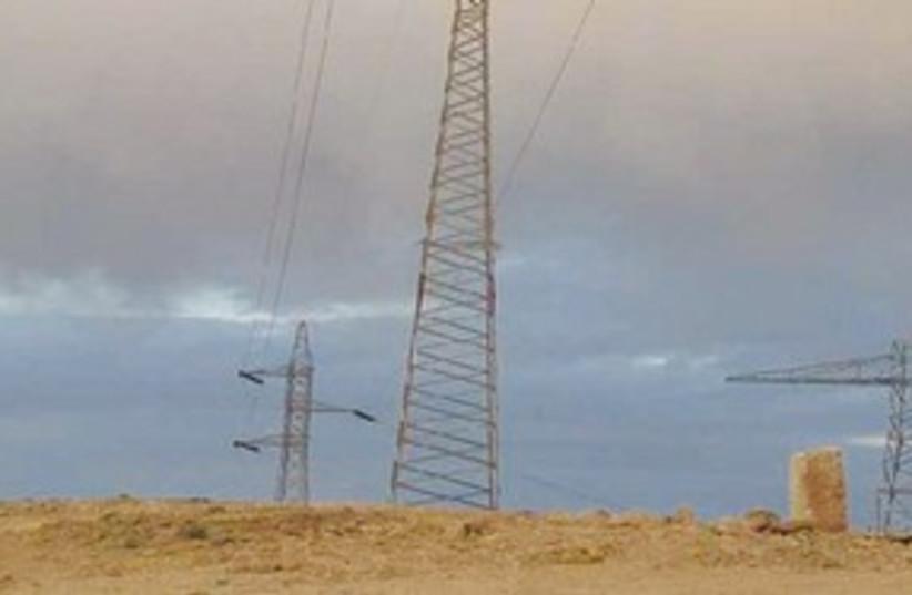 power lines 311 (photo credit: Ben Dury/NPA)