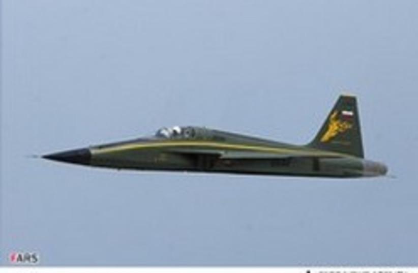 Iranian fighter jet 248.88 (photo credit: Fars News Agency)