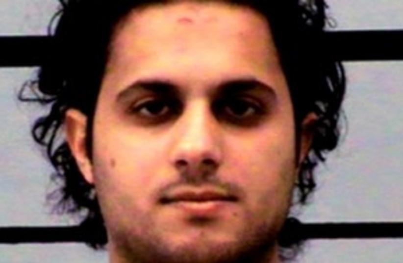 Khalid Ali-M Aldawsari, terror suspect 311 AP (photo credit: AP)