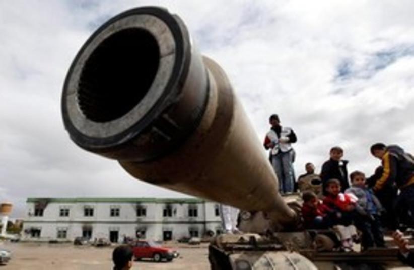 Libyan protests_311 (photo credit: ASSOCIATED PRESS)
