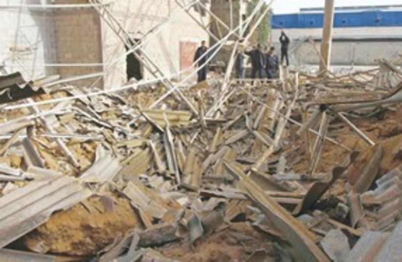 building damage Gaza_311 (photo credit: ASSOCIATED PRESS)