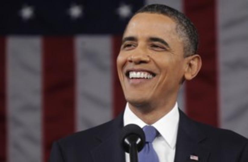 Obama 311 reuters (photo credit: Reuters)
