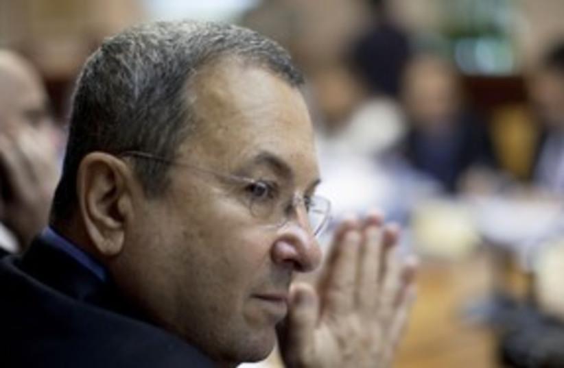 Barak 58 reuters (photo credit: Reuters)