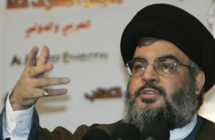 Nasrallah 311reuters (photo credit: reuters)
