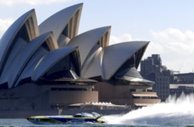 Sydney 311 (photo credit: Reuters)