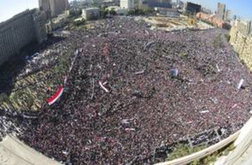 Tahrir is packed (R) 311 (photo credit: Reuters)