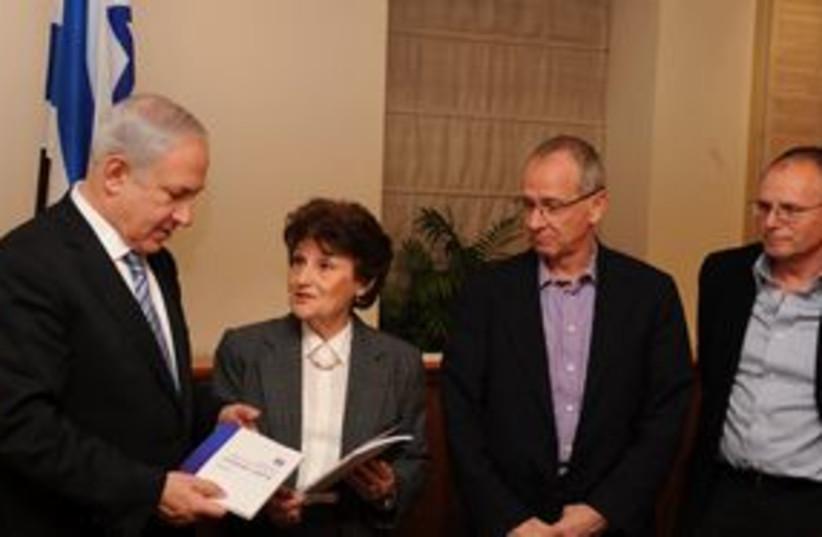 Netanyahu Shahada Report 311 (photo credit: Moshe Milner/GPO)