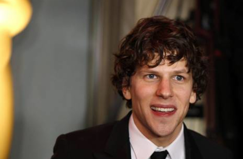 Actor Jesse Eisenberg from the The Social Network